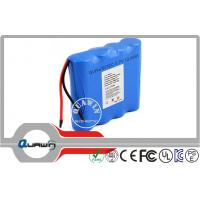 China 3.7v 12400 Mah 18650 Lithium Battery Packs , Medical Equipment Rechargeable Lithium Batteries wholesale