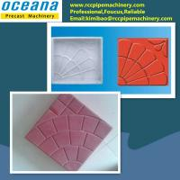Quality Plastic mould for making concrete paving stone for sale