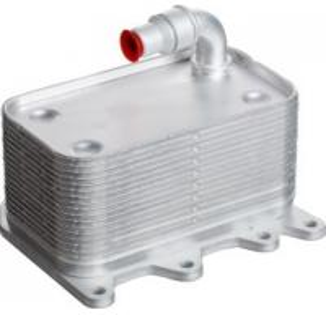 China Durable 17217803830 BMW Oil Cooler , Aluminum Oil Cooler For BMW 5 E61 E60 2002 wholesale