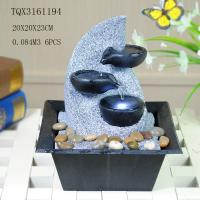 China Fashionable Design Polyresin Water Fountain Handmade For Shop Decoration wholesale