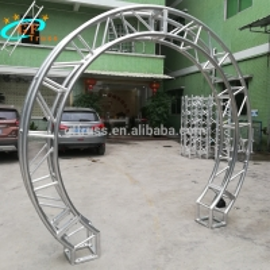 China 2m Aluminum Circular Spigot Truss For Exhibition Show wholesale