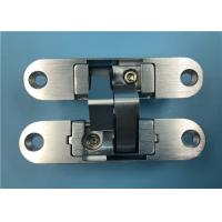 China Anti Corrosive Right Open 3D Concealed Hinges For Light Wooden Metal Door wholesale