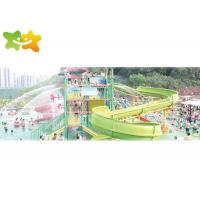 China Exciting Large Speed Water Slide Environmental Friendly Indoor Outdoor Application wholesale