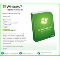 Quality Windows 7 Product Key Codes For Microsoft Windows 7 Home Premium for sale