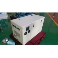 China 4 Pole Alternator 13 KVA Three Phase Diesel Generator With Sound Reducing Enclosure wholesale