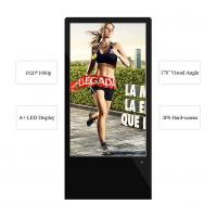 Buy cheap 43 Inch Floor Standing LCD Advertising Display LED Touch Screen For Indoor from wholesalers