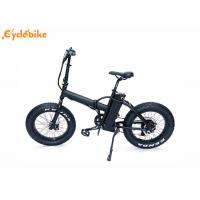 China 35~40Km/h 8FUN 20'48V500W rear motor electric folding bike with 48V10AH lithium battery wholesale