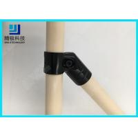 China 45 Degree Angled Pipe Connector Flexible Metal Joint For Diy Pipe Rack HJ-9 wholesale