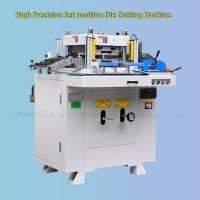 Quality Automatic Self Adhesive Sticker Die Cutter Machine Pressure Accuracy ±0.03 wholesale