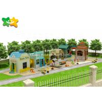 China Garden Outdoor Play Structures Layout Independent Designed Integrate Functional wholesale