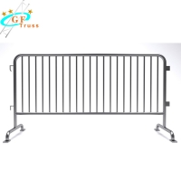 China Galvanized Iron Crash Temporary Metal 1.2M Road Safety Steel Barrier wholesale