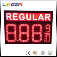 China IP65 Waterproof Electronic LED Gas Price Display Customized Design wholesale