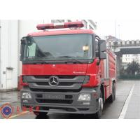 China Gross Weight 28000kg Water Tanker Fire Truck With 12000kg Capacity Liquid Tank wholesale
