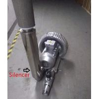 China 1.5 Inches Air Compressor Silencer For High Pressure Ring Blower wholesale