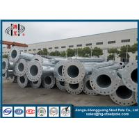 China Hot Dip Galvanized 45FT Steel Pole Transmission Line For Power Transmission wholesale