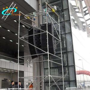 China Spigot Type Alu 6082-T6 Line Array Truss For Indoor Events wholesale