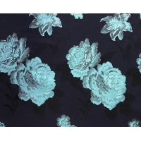 Buy cheap Floral Fabric Jacquard TC Yarn-dyed H/R 21.0cm 460T/83%T/17%C/185gsm from wholesalers