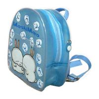 China Personalized Lovely Cute Clear PVC Bags Backpack , Kids Shoulder Bag wholesale