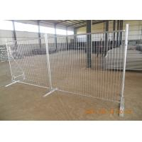 China Portable Temporary Fence Panels Hot Dipped Galvanized 42 Microns Australian Standard wholesale
