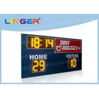 China Multifunctional  Wire and Wireless Controller Led Electronic Scoreboard for Outside Stadium wholesale