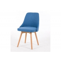 China Beech Wooden Dining Room Chairs , Ergonomic Modern Restaurant Chairs wholesale