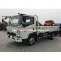 Quality SINOTRUK HOWO 6 Wheeler Heavy Cargo Truck With 4.2T Rear Axle wholesale