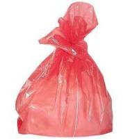 Disposable PE Water Soluble Laundry Bags With Strip Multi Colored Available