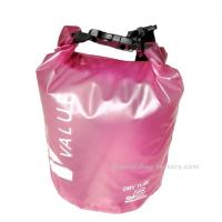 China 5L  Light-weight Outdoor Waterproof Dry Bags with Silk-screen Print Pink wholesale