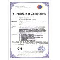PSC Motor and Fan, Inc. Certifications