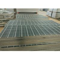 China Custom Steel Catwalk Grating , Hot Dipped Galvanized Paint Booth Floor Grates wholesale