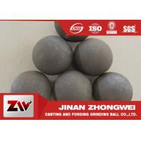 Quality 125mm Forged grinding media ball for ball mill with B3 B4 materials HRC 60-65 wholesale