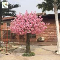 China UVG beach wedding ideas fake flowers silk cherry blossom tree for stage backdrop decoration CHR142 wholesale