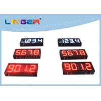 China 200mm Height Gas Station Led Signs , Led Fuel Price Signs Various Styles wholesale