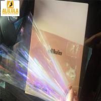 China High quality UV rejected plastic Chameleon car solar window film in 1.52*30m wholesale