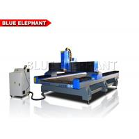 China Heavy Duty Cnc Router Stone Etching Machine / Equipment , Cnc Stone Cutting Machine For Marble / Granite wholesale