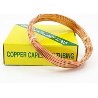Buy cheap HAVC Copper Capillary Tube For Cooling Pipes Outer Diameter 1.83 - 3.69 MM from wholesalers