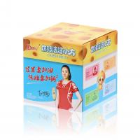 China CMYK Pantone Colors Printing 350G Matte Art Paper Material Paperboard Boxes  for Cheese Melts Packaging on sale