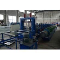 Quality Heavy Duty 1.5-4mm G.I Steel Perforated Cable Tray Roll Former High Speed Fully Automatic for sale
