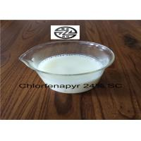 China 6-8 PH Organic Insecticides Chlorfenapyr Technical 24% SC / CAS 122453-73-0 wholesale