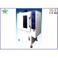 Buy cheap Boeing Smoke Density And Toxic Test Chamber FAR 25.853 PID Temperature Control from wholesalers