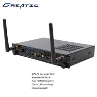 ZC - OPS5010 Broadwell I3 5010u Open Pluggable Specification PC With 80PIN JAE Port