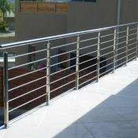 China Modern Balcony / Staircase Stainless Steel Rod Railing Design wholesale