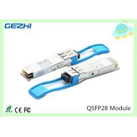 China 100G QSFP28 Transceivers SR4 MMF 850nm Reach 100M , MTP / MPO connector wholesale