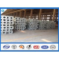 China 7.6M 3mm Thick Conical Hot Dip Galvanized Street Light Steel Poles wholesale