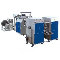 Quality Two Lines Garbage  sealing bag making machine With Coreless Winder for sale