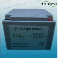 China Most Compact 32Ah 12V LiFePO4 Rechargeable Battery for Mobile Medication Carts wholesale