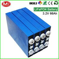 China Lithium Polymer Car Battery Inverter Rechargeable LiFePO4 Battery Storage 3.2V 66Ah on sale