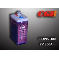 China 2V 6 OPzS300 Rechargeable Tube Opzs Solar Batteries UPS Telecom Application wholesale
