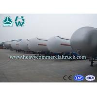 China Heavy Duty Tank LPG Semi Trailer For Gas Delivery Reliable Structure wholesale