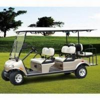 China 6-seater Electric Golf Car with 48V Electrical System and US On-board Charger wholesale